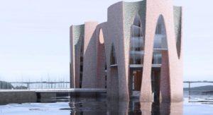 Fjordenhus Vejle havn ikonisk restaurant